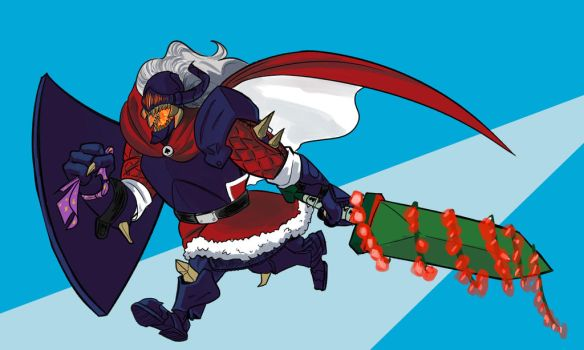 Second Santa Secret Draft Alastor by Langry-The-First
