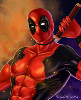 Deadpool by ScarletEyeMN