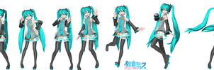 Project diva poses download by Sateraido