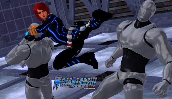Bad Day for The Dummies: Black Widow. by WOLFBLADE111