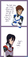 Voltron comic #1 by PinkOwl99