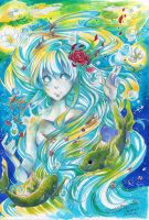 - lady of the lake - by AsuHan