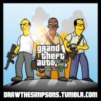 GTA 5 Simpsonized by ADN-z