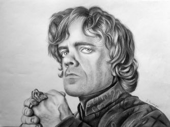 Tyrion Lannister Drawing by lihnida