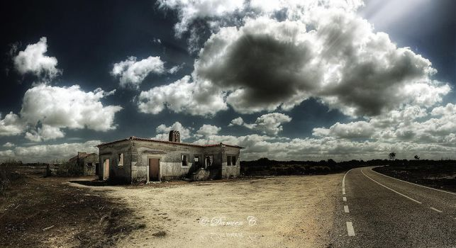 The House Where Nobody Lives by damien-c-photography