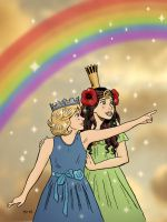 Princesses of Oz by rocketdave