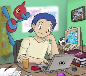 PKMNRB - Darius at Work by caat