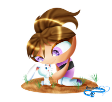 Prize : Hey there little bunny by JasmineM18