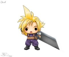 Chibi Cloud by capsicum