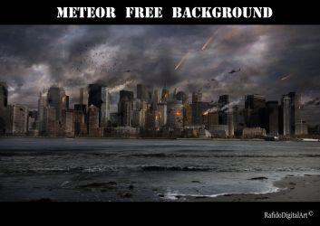 Meteor Background by Rafido