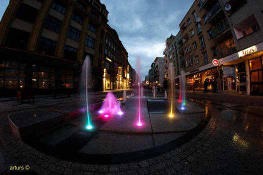 Fountain by arturs23
