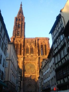 Cathedrale in Strasbourg by blackdevilbd