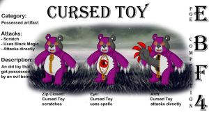 Cursed Toy by RivanKrieg