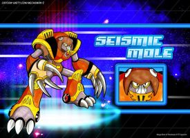 Seismic Mole by Silver-Ray