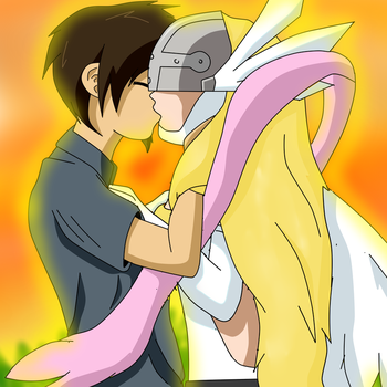Jacob x Angewomon (Rq For  Supremechaos918) by anapalaxi