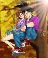 Goku and Tegan Part II by IvD-ICE