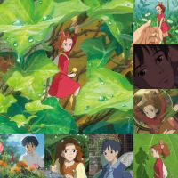 the secret world of arrietty by Midnightrosesblood