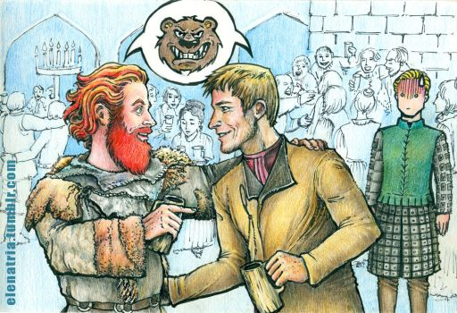 Tormund and Jaime: So much in common by ElenaTria