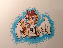 Pit - Kid Icarus by TheDeltaWerewolf