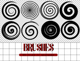 Brushes 007 // Circles by BEAPANDA