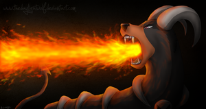 Fire from the Heart by TheDaylightWolf