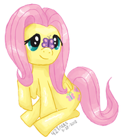 Fluttershy Butterfly by IAmCortney