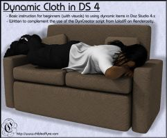 COF Tutorial : Dynamic Cloth Basics in DS 4 by Childe-Of-Fyre