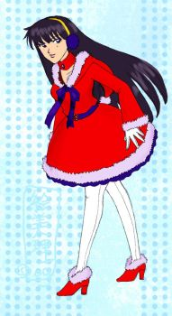 Sailor Snow Mars by lamarce