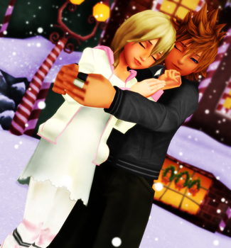 MMDKH ~  RoxNami ~ Keep Me Warm ~ REQUEST 8 by XxChocolatexHeartsxX