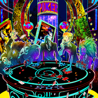 Cosmic casino :commission: by Patt-Fry