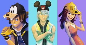 KH - Who's Your Favorite Disney Character? by LynxGriffin