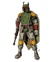 Boba Fett by ChrisFaccone