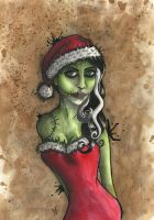 Zombie Christmas by VictoriaThorpe
