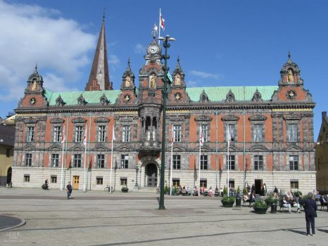 Malmoe City Hall by duokai