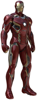 Iron Man Mk-45: Transparent Background! by Camo-Flauge