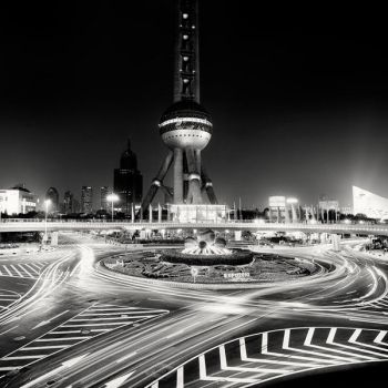 Shanghai Oriental Pearl Tower by xMEGALOPOLISx