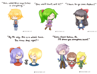 Quotable RPG Maker Horror Doodles by silverei