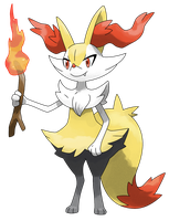 Pokemon Y: Braixen