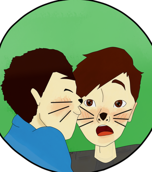 Dan And Phil - A3 Tumblr Drawing Challenge by TheAcrylicKnight