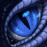 Eye-Con Comish - Frozen Scaled by TwilightSaint