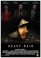 Heavy Rain Film Poster by Titch-IX