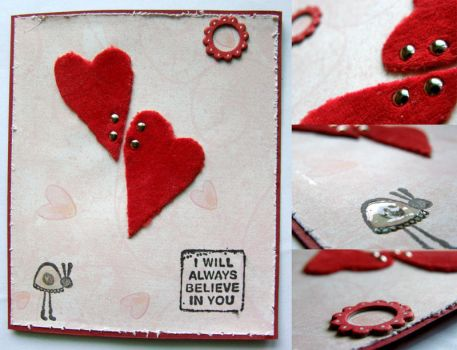 happy valentine - details by craftlady