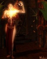 The Sorceress of Sha'Vahn by DesignsByEve
