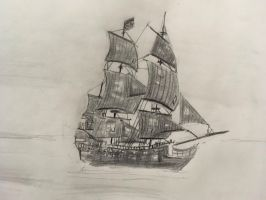 The Black Pearl by CaptainEdwardTeague