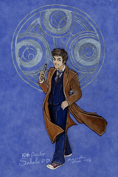 Time Lord from Gallifrey - Commission by Truthdel