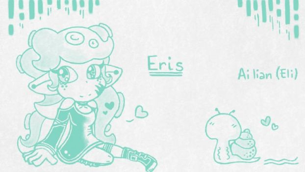 Eris the Octoling-Art Academy 08.10.2016 by Selier23