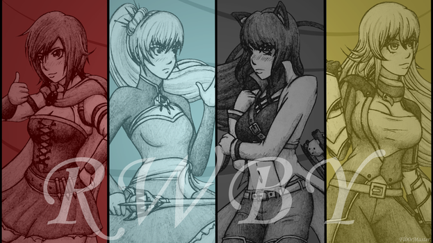 RWBY Volume 5 by Fl00rMaster
