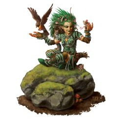 Pathfinder Sample: Lini The Druid by LucasDurham