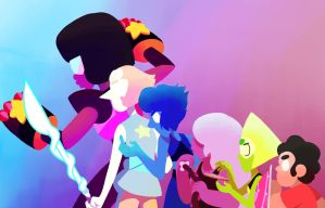 The Crystal Gems by Hobsyllwinsflame