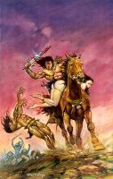 Ride of The Barbarian by blasgallego